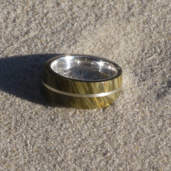 Ring Silber, Eschenahorn